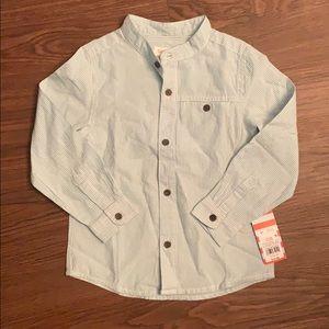 NWT Boys Cat & Jack Button-Down Shirt